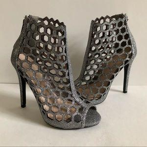 Windsor Newbee Honeycomb Sparkle Heels